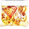 KESS InHouse Tree of Love Duvet Cover