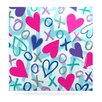 KESS InHouse Hearts A Flutter by Emine Ortega Graphic Art Plaque