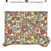 KESS InHouse My Butterflies and Flowers Duvet Collection