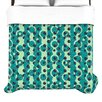 "KESS InHouse ""Bubbles Made of Paper"" Woven Comforter Duvet Cover"