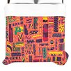 KESS InHouse Squares Duvet Collection