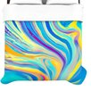 <strong>Rainbow Swirl Duvet</strong> by KESS InHouse