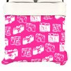KESS InHouse Camera Pattern Duvet