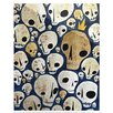 KESS InHouse Skulls by Jaidyn Erickson Graphic Art Plaque
