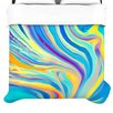 KESS InHouse Rainbow Swirl Duvet Collection