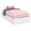South Shore Litchi Twin Mate's Bed