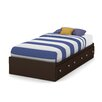South Shore Morning Dew Mate's Bed with Storage