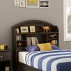 South Shore Morning Dew Bookcase Headboard