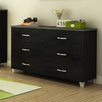 South Shore Lazer 6 Drawer Dresser
