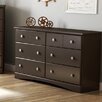South Shore Morning Dew 6 Drawer Dresser