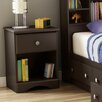 South Shore Morning Dew 1 Drawer Nightstand
