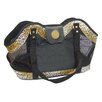 <strong>New York Dog Design</strong> Leopard Open Tote Pet Carrier