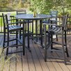 Trex Outdoor Trex Outdoor Monterey Bay 5 Piece Bar Set