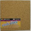Dooley Boards Inc Cork Tile 1' x 1' Bulletin Board (Set of 4)