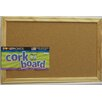 "Dooley Boards Inc Cork 11"" x 1' 5"" Bulletin Board"