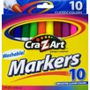<strong>Washable Markers (10 Count)</strong> by Cra-z-art Corporation