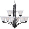 <strong>Wildon Home ®</strong> Alvaro 9 - Light Multi - Tier Chandelier