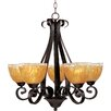 <strong>Wildon Home ®</strong> Lorraine 5 - Light Single - Tier Chandelier