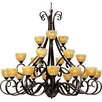 <strong>Lorraine 21 - Light Multi - Tier Chandelier</strong> by Wildon Home ®