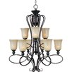 <strong>Wildon Home ®</strong> Potpurri 9 - Light Multi - Tier Chandelier