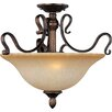 <strong>Curtin 3 - Light Semi - Flush Mount</strong> by Wildon Home ®