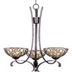 <strong>Wildon Home ®</strong> Sunata 3 - Light Single - Tier Chandelier
