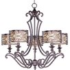 <strong>Wildon Home ®</strong> Timbora 5 - Light Single - Tier Chandelier