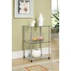 <strong>Convenience Concepts</strong> Classic Glass Three Tier End Table