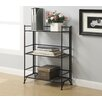 <strong>Convenience Concepts</strong> XTRA Storage 3 Tier Wide Folding Shelf in Black
