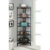 <strong>Designs2Go 5 Tier Folding Metal Corner Shelf</strong> by Convenience Concepts