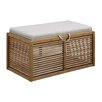 Convenience Concepts Designs 4 Comfort Double Storage Ottoman