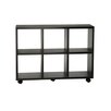 "<strong>Northfield Rolling 34.5"" Bookcase</strong> by Convenience Concepts"