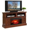"""Convenience Concepts Designs 2 Go 54"""" TV Stand with Electric Fireplace"""