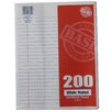 Norcom Inc 200 Count Wide Ruled Looseleaf Paper