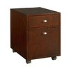 Hammary Tribecca 2-Drawer Mobile  Filing Cabinet