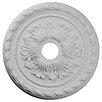"Ekena Millwork Palmetto 20.88"" H x 20 7/8"" W x 1.63"" D Ceiling Medallion"