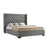 LuXeo Newport Wingback Bed