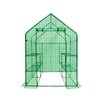 "<strong>OGrow</strong> Deluxe Steel 56"" x 56"" Walk-in Learn-To Greenhouse"
