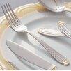 Ten Strawberry Street Parisian Gold Stainless Steel Dinner Fork (Set of 4)