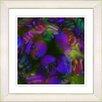 """Studio Works Modern """"Naomi"""" by Zhee Singer Framed Giclee Print Fine Art in Purple"""