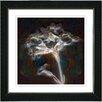 "Studio Works Modern ""Floral Montage"" by Zhee Singer Framed Giclee Print Fine Art in Amber"