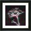 "Studio Works Modern ""Floral Montage"" by Zhee Singer Framed Giclee Print Fine Art in Red"