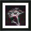 "Studio Works Modern ""Red Floral Montage"" by Zhee Singer Framed Fine Art Giclee Painting Print"