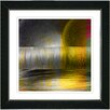 "Studio Works Modern ""Veggie Medley - Yellow"" by Zhee Singer Framed Fine Art Giclee Painting Print"