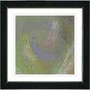 """Studio Works Modern """"Moon Shadow"""" by Zhee Singer Framed Giclee Print Fine Art in Green"""