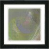 "Studio Works Modern ""Moon Shadow - Green"" by Zhee Singer Framed Fine Art Giclee Painting Print"