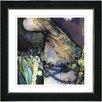 "Studio Works Modern ""Tattoo"" by Mia Singer Framed Giclee Print Fine Art in Green"
