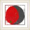 "Studio Works Modern ""Luna Apex"" by Zhee Singer Framed Fine Art Giclee Painting Print"