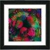 "Studio Works Modern ""Naomi - Red"" by Zhee Singer Framed Fine Art Giclee Painting Print"