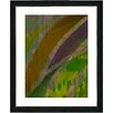 "Studio Works Modern ""Cinnabar - Olive"" by Zhee Singer Framed Fine Art Giclee Painting Print"